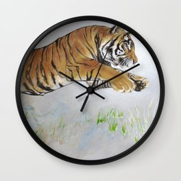 Coloring In The Lines Wall Clock