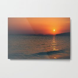 Thailand sunset Metal Print