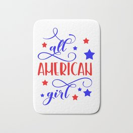 All American girl Bath Mat