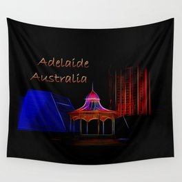 Electrified Adelaide Wall Tapestry