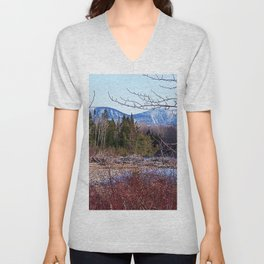 The Way to the Mountain Unisex V-Neck