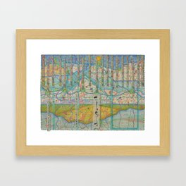 Let Us Do Our Best Even If It Gets Us Nowhere Framed Art Print