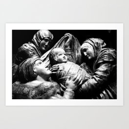 """O Holy Night"" Art Print"