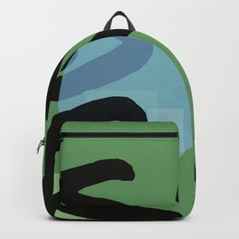 Surf is a Four Letter Word Backpack