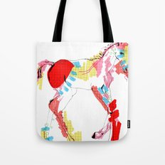 Baby horse colour Tote Bag