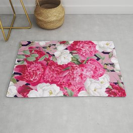 Despite The Forecast, Live Like It's Spring #graphicdesign Rug