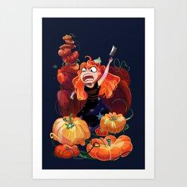 PUMPKIIINNNS Art Print
