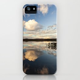 reflections on South Bay iPhone Case