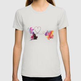 Britain to Suriname  Quote Art Design Inspirationa T-shirt
