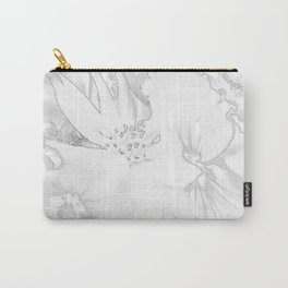 Flower bouquet...BW Carry-All Pouch