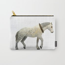 Wooden Plow Horse Carry-All Pouch