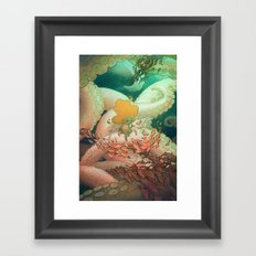 Listen To Me And I'll Tell You A Story Framed Art Print