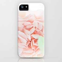 soft and pink iPhone Case
