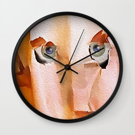 The Usual Suspects Wall Clock