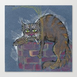 Hangover monday Canvas Print