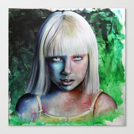Maddie Chandelier Canvas Print