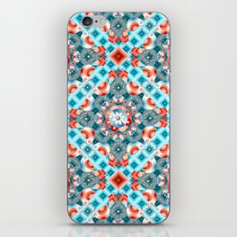 Decorative Lovebirds iPhone Skin