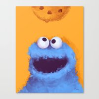 cookies Canvas Prints featuring Cookies  by Lime