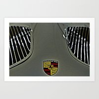 porsche Art Prints featuring Porsche by LeicaCologne Germany