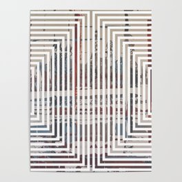 Waterlogged - lined Poster