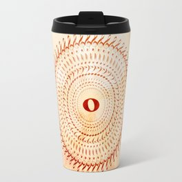 Watercolor music mandala no 2 Travel Mug