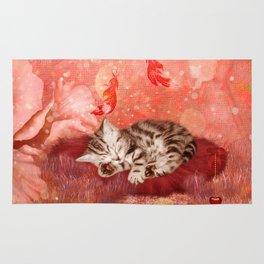 Cute little kitten Rug