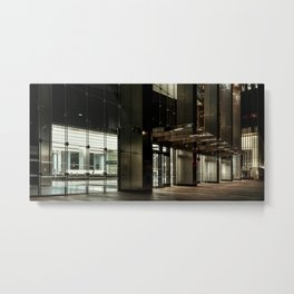Night city, downtown, Manhattan, New York (2020-5-GNY155) Metal Print