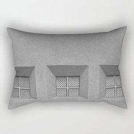 Three Little Windows Rectangular Pillow