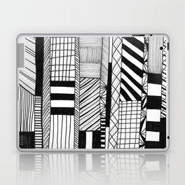 Mono Geo Lines Laptop & iPad Skin