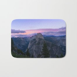 Yosemite National Park at Sunset Bath Mat