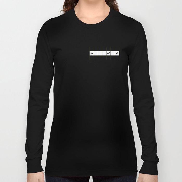 One across (little clue) Long Sleeve T-shirt