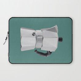 Coffee Moka Pot polygon art Laptop Sleeve
