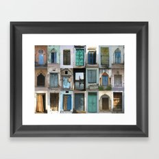 INDIA - Doors of India Framed Art Print