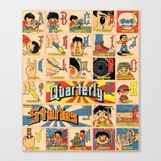 Odd Alphabet Chart Canvas Print