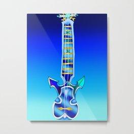 Fusion Keyblade Guitar #101 - Demyx's Sitar & Diamond Dust Metal Print