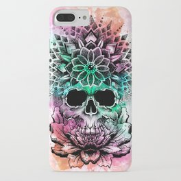trancendetal skull iPhone Case