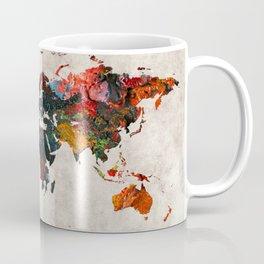 World Map 56 Coffee Mug