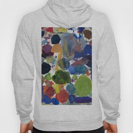 Artist palette with colorful paint spots Hoody