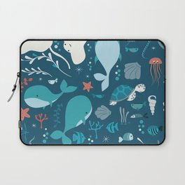 Sea creatures 004 Laptop Sleeve