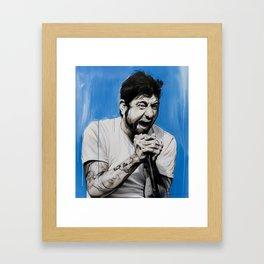'Chino Moreno' Framed Art Print