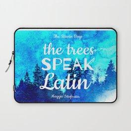 Trees Speak Latin (The Raven Boys) Laptop Sleeve