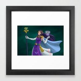 Princess Hilda Framed Art Print