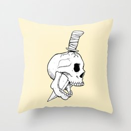 A Bitter End Throw Pillow