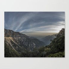 crest sunset Canvas Print