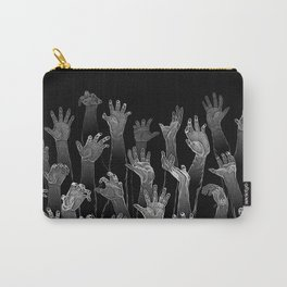 Halloween Horror Zombie Hand Pattern Carry-All Pouch