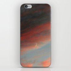 Moon and Sunset iPhone & iPod Skin