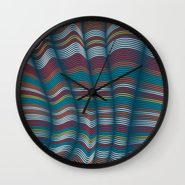 Flexible Lines 15 Wall Clock