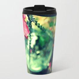 Rose and Chain Travel Mug