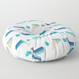 Fish Floor Pillow