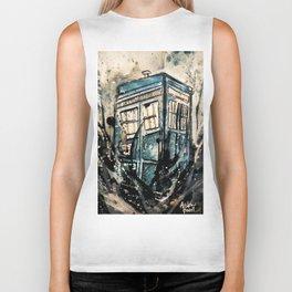 TARDIS from Doctor Who Biker Tank